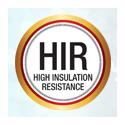 High Insulation Resistance